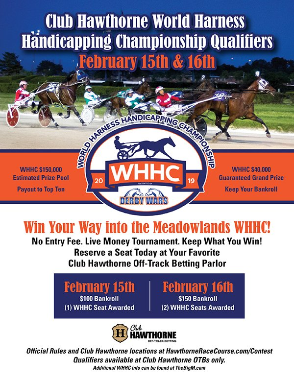 Harness WHHC Qualifier Feb 15 & 16
